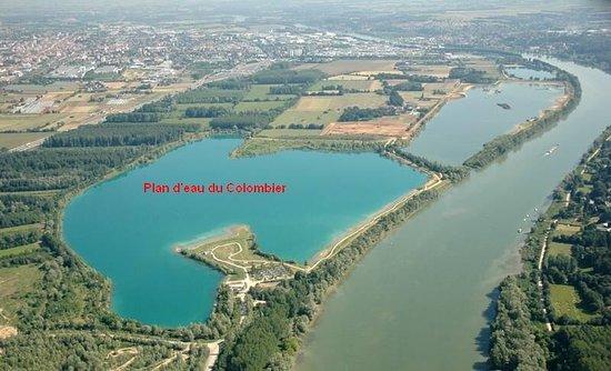 Anse, France: Lac du Grand Colombier