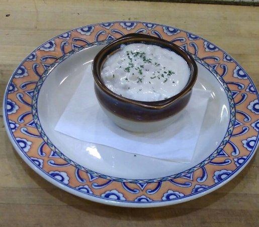 Front Royal, VA: Clams chowder soup