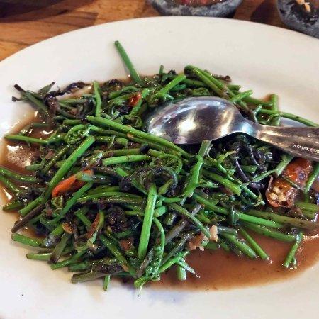 Pondok Laguna: Chinese vegetables