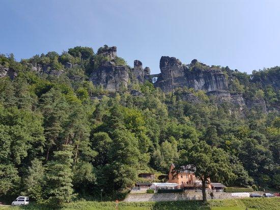 Bastei, Tyskland: Neurathen Castle