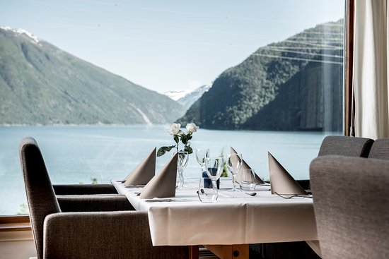 Balestrand, Norway: from the restaurant