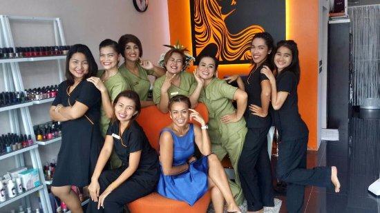 Choeng Thale, Thailand: The Team