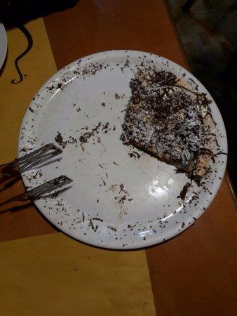 Pizzeria Ristorante L'Erasmus da Iuppa: 2017 - La pizza dolce, o meglio, ciò che ne rimane...