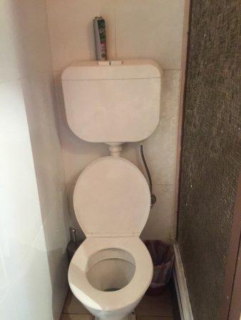 Deloraine, Australia: WC space - very tight, fit for small person