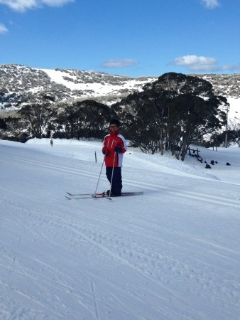 Great location in Falls Creek (Nordic Bowl) to have a Cross Country Skiing lesson at!