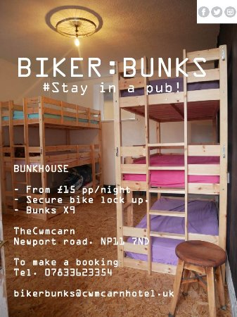 Cwmcarn, UK: Come Bunk with us!