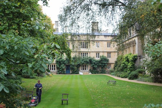 Experience Oxfordshire - Oxford Official Walking Tours: Inside Exeter college