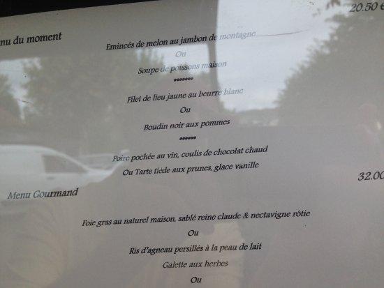 Bozouls, Frankreich: Menu à 22€