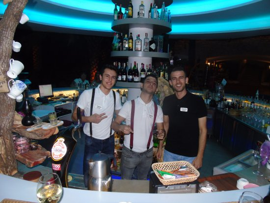 Flamingo Hotel: Caner, Mustafa and 'Captain' Serkan, at your service!