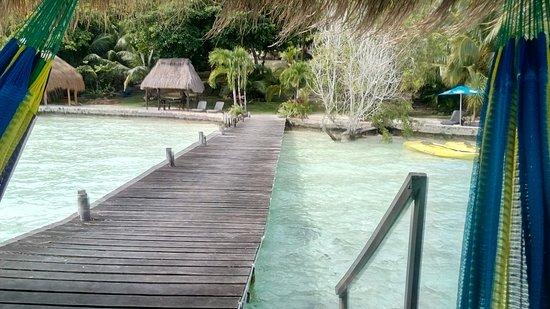 Laguna bacalar villas wayak bacalar messico 2017 for Villas wayak bacalar