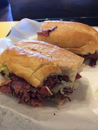 Canton, GA: Pastrami Sandwich