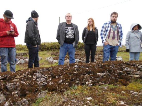 Harju County, Estonia: Studium av gravfält i Rebala.