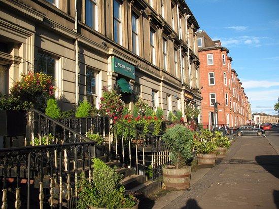 Façade de l'hotel - Picture of Argyll Hotel, Glasgow