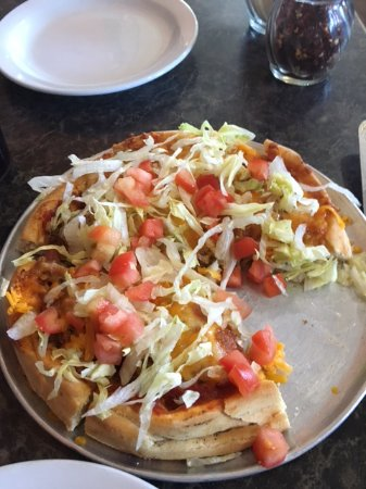 Fort Macleod, Canada: Taco pizza