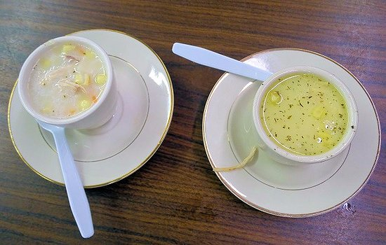 Thomasville, NC: cafe's corn chowder soup