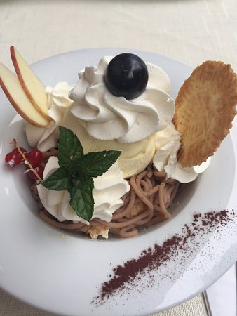 Schangnau, Suiza: Dessert