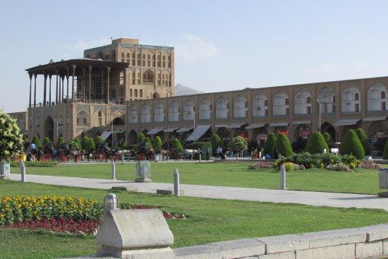 Aali Qapu Palace : Hermoso Palacio y hermosas vistas