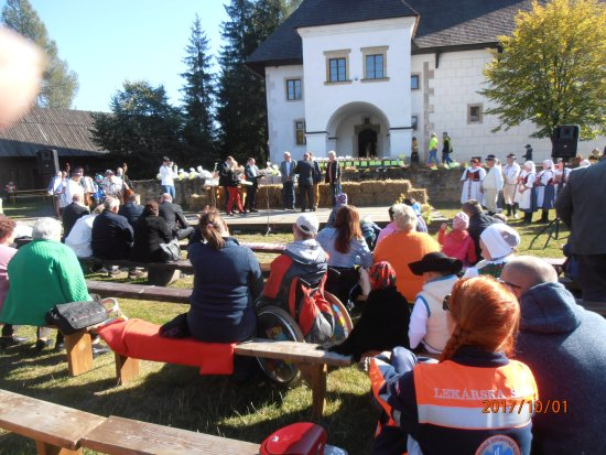 Pribylina, Slovensko: Ceremoniál ocenených Liptovských poľnohospodárov