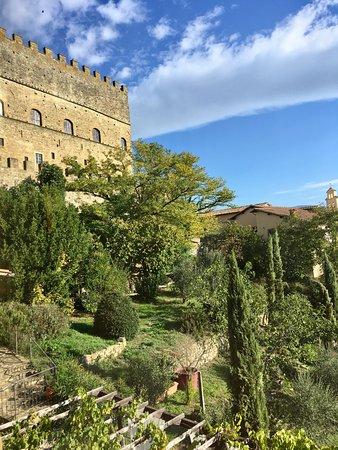 Albergo San Lorenzo: il panorama dalla finestra della nostra camera