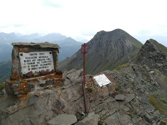 Livinallongo del Col di Lana, Italy: In vetta