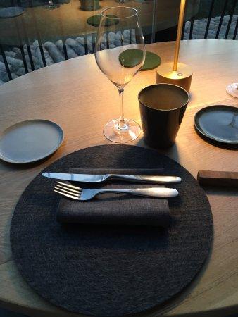 Table mise en place foto de restaurant dan b la table de ventabren ventabren tripadvisor - Mise en place table restaurant ...