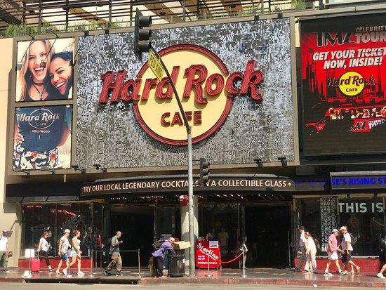 Hard Rock Cafe Los Angeles Hollywood Menu Prices