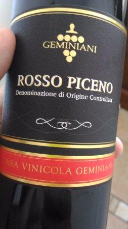 Montalto delle Marche, Italy: vino