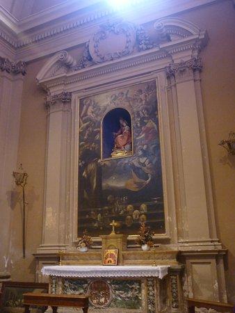 Badia di Santa Maria in Strada: altare laterale