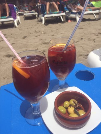 Playa El Bombo: Sangra