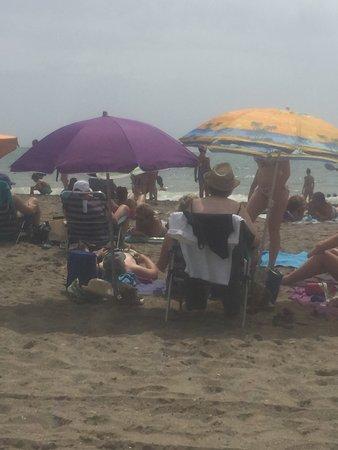 Playa El Bombo: Panorama