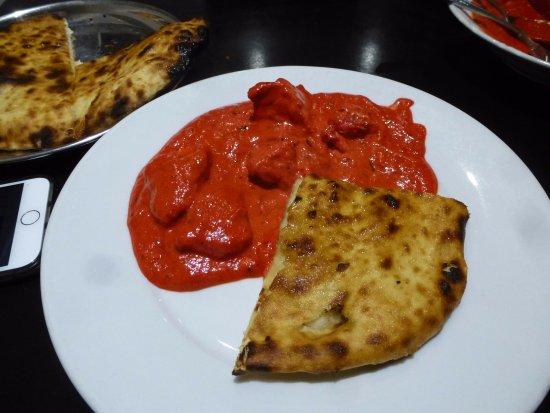 Sammi's: Chicken Tikka Masala + Peshwari Naan
