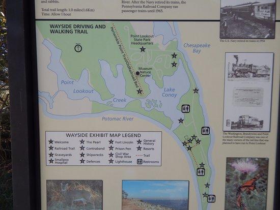 สกอตแลนด, แมรี่แลนด์: trail marker