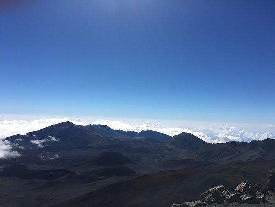 Paia, ฮาวาย: Beautiful view of Haleakala.