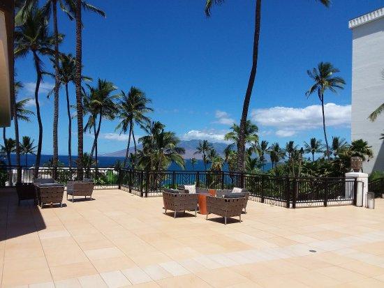 Wailea Beach Resort Marriott Maui View From The Lobby Area