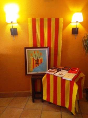 Castellbisbal, Spagna: Interior restaurante