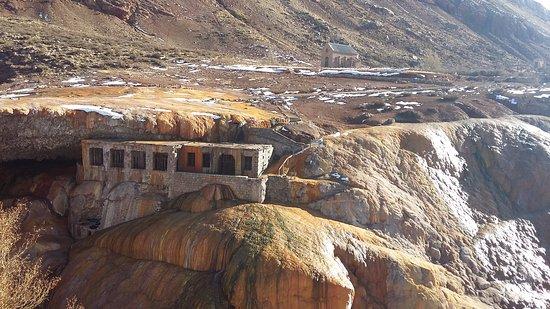 Las Cuevas, Argentina: Ruinas del hotel