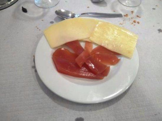 Sant Quirze de Besora, สเปน: membrillo con queso
