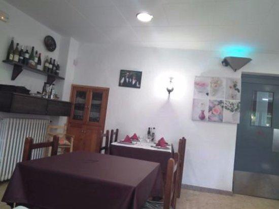 Sant Quirze de Besora, สเปน: Interior restaurante