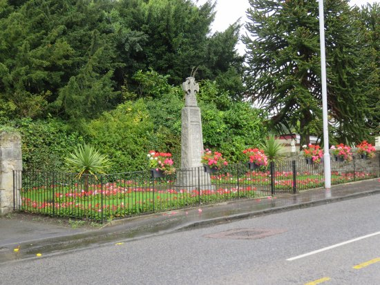 Cairneyhill, UK: from across the street