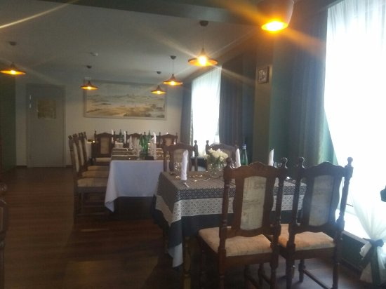 Tukums, ลัตเวีย: Большой зал ресторана
