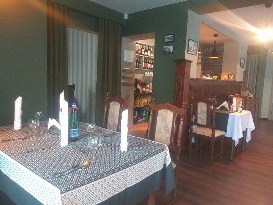 Tukums, Latvia: Интерьер ресторана