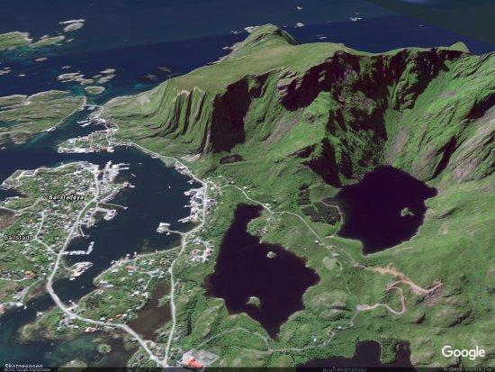 Ballstad, Norway: Sattelitbild