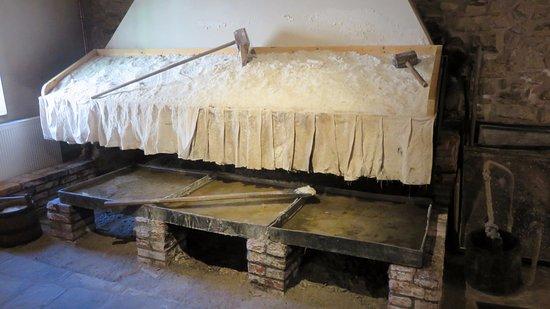 Salies-de-Béarn, Francia: Reconstitution d'un atelier de façonneur de sel