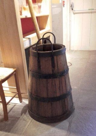 Salies-de-Béarn, Francia: Sameau servant au transport de l'eau salée