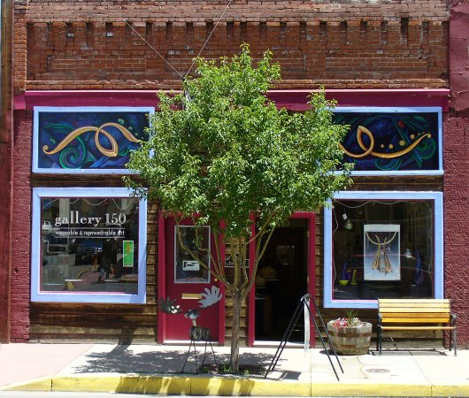 Salida, CO: Gallery 150 is a Fine Art and Contemporary Craft Gallery.