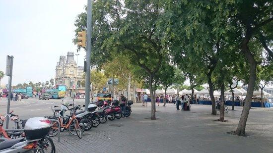 Plaza De Colon Picture Of Plaza De Colon Barcelona Tripadvisor