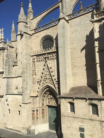 Puerta Catedral Suites: The view from our apartment! Unbelievable.