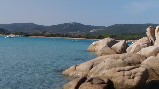 Santa Giulia, França: Пляж Санта Джулия