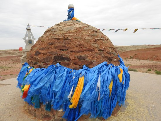 Sainshand, Mongolia: Ovoo