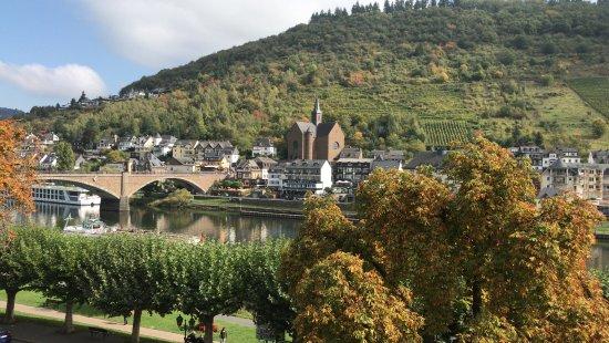Hotel Karl Müller: Utsikt från rummet i september